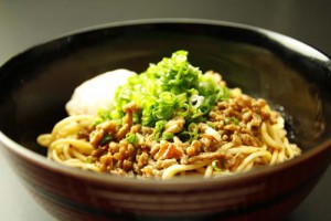 汁なしタンタン麺1